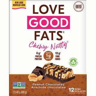 LGF BAR CHEWY NUTTY PEANUT CHOCOLATEY 40G CTN12