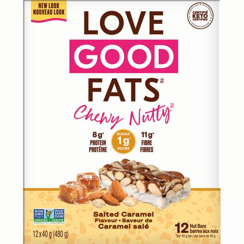 love good fats Keto Chewy-Nutty Bars