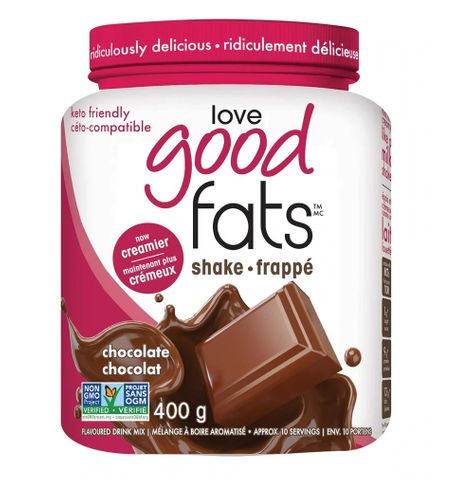 love good fats Keto Shake Tubs