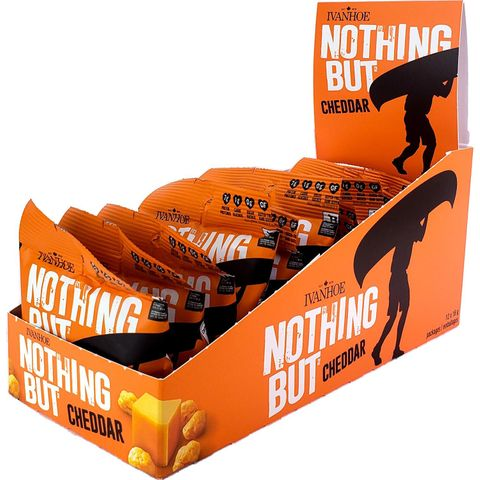 Ivanhoe Nothing But Cheese Shelf-Stable Cheese Snacks in Trays
