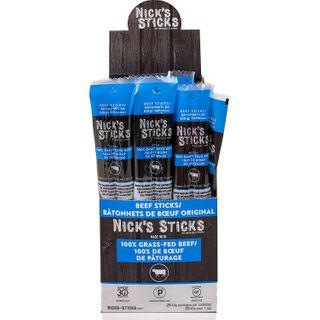 NICKS STICKS GRASS-FED BEEF STICKS ORIGINAL 48G CTN25