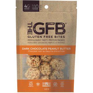 THE GFB BITES DARK CHOCOLATE PEANUT BUTTER 113G