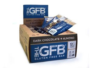 THE GFB BAR DARK CHOCOLATE ALMOND 58G CTN12