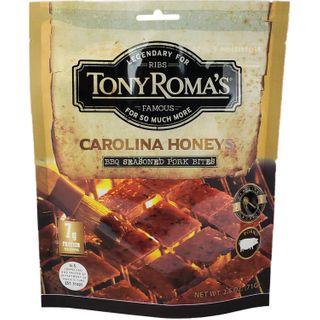 TONY ROMAS BBQ PORK BITES CAROLINA HONEY 71G