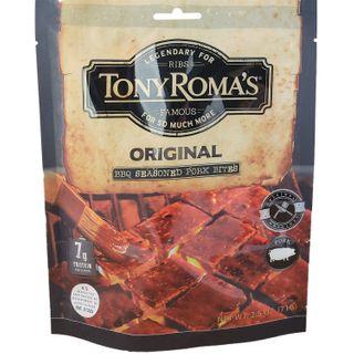 TONY ROMAS BBQ PORK BITES ORIGINAL 71G