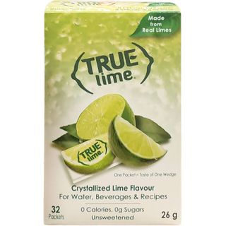 TRUE CITRUS CRYSTALLIZED PACKETS LIME 32CT