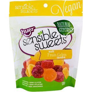 SENSIBLE SWEETS FRUIT GELEES 130G