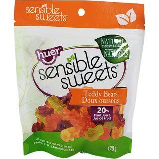 SENSIBLE SWEETS JUICY TEDDY BEARS 170G