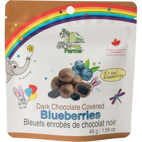 Snow Farms Chocolate-Covered Canadian Blueberries