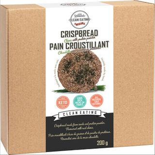 KZ CLEAN CRISPBREAD CHIVES WITH PROTEIN 200G