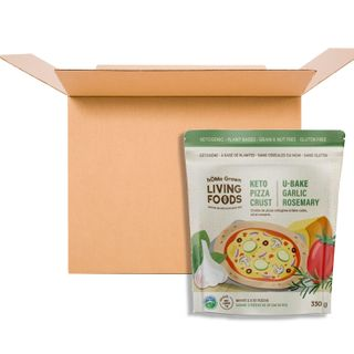 HG KETO U-BAKE PIZZA CRUST MIX GARLIC ROSEMARY 330G CS12