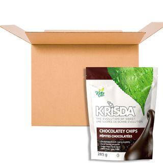 KRISDA SEMI SWEET CHOCOLATEY CHIPS 285G CS6