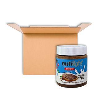 NUTILIGHT HAZELNUT SPREAD WITH COCOA AND MILK 312G CS6