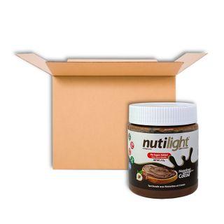 NUTILIGHT HAZELNUT SPREAD WITH COCOA 312G CS6
