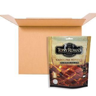 TONY ROMAS BBQ PORK BITES CAROLINA HONEY 71G CS12