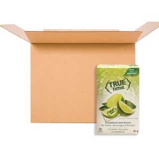 TRUE CITRUS CRYSTALLIZED PACKETS LIME 32CT CS12