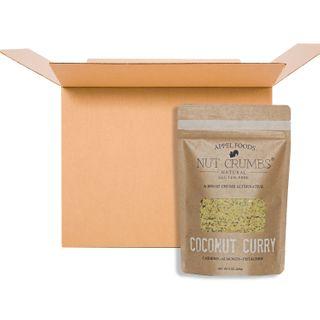 APPEL FOODS NUT CRUMBS COCONUT CURRY 226G CS12