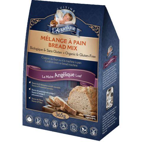 Cuisine L'Angelique Gluten-Free & Organic Bread Mixes