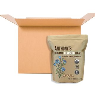 ANTHONYS ORGNC FLAXSEED MEAL 1.13KG CS10