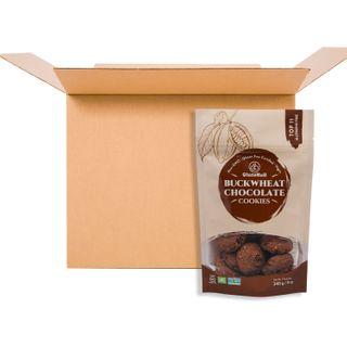 GLUTENULL COOKIES BUCKWHEAT CHOCOLATE 240G CS22