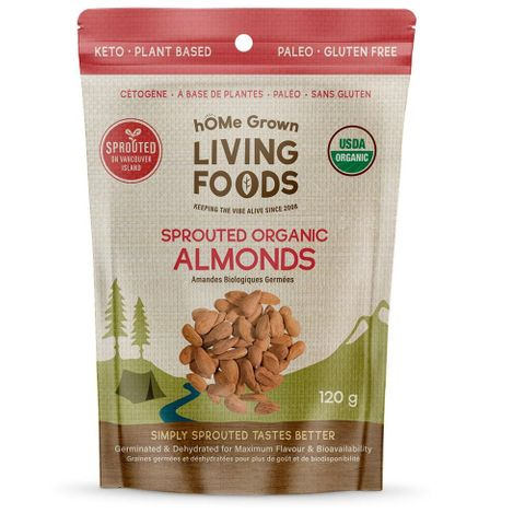 hOMe Grown Living Foods Organic Sprouted Nuts & Seeds