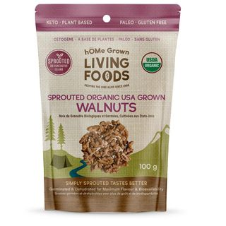 HG SPROUTED ORGNC WALNUTS 100G