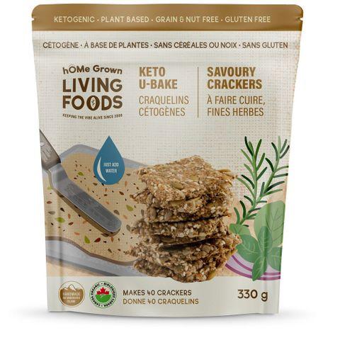 hOMe Grown Living Foods Keto U-Bake Mixes