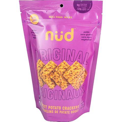 nud fud Organic Raw Sweet Potato Crackers
