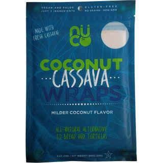 NUCO COCONUT WRAPS CASSAVA 55G