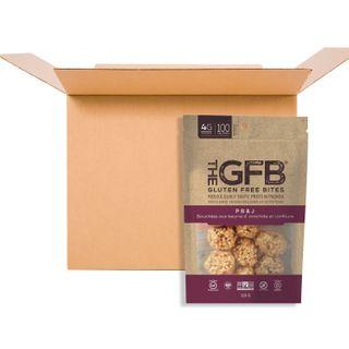 THE GFB BITES PEANUT BUTTER & JAM 113G CS6