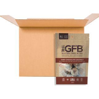 THE GFB BITES DARK CHOCOLATE COCONUT 113G CS6