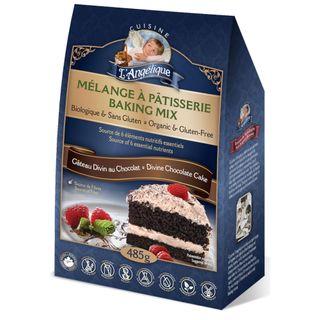 CLA GF ORGNC CAKE MIX CHCO DIVINE 485G