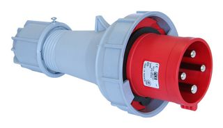 POWER TWIST PLUG 63A 4P 6h IP67 400V