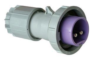 POWER TWIST PLUG 16A 2P 24V IP67