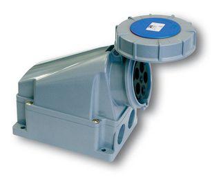 POWER TWIST WALL SOCKET IP67 63A3P 230V 6h