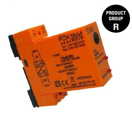 DC TO DC CONVERTER IN:18-75VDC OUT:24VDC