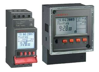 DIGITAL TIME SWITCH DIN RAIL 1