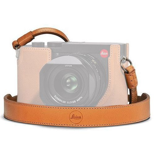 LEICA Q2 CARRYING STRAP BROWN