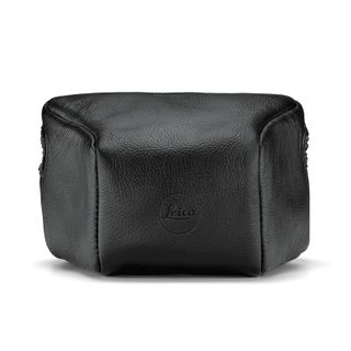 LEICA M10 LEATHER POUCH BLACK SHORT