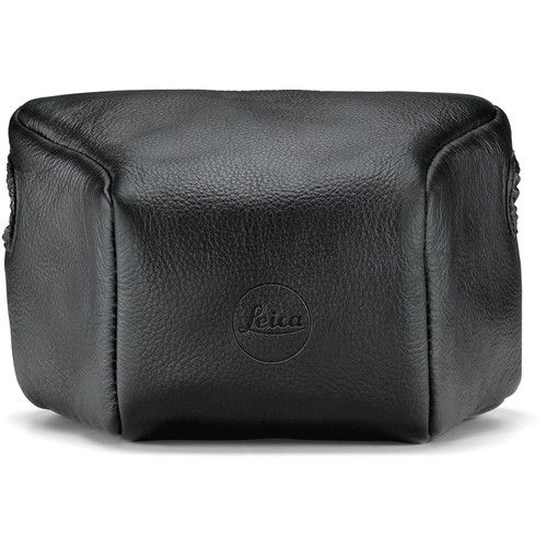 LEICA M10 LEATHER POUCH BLACK LONG