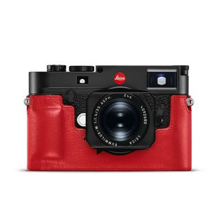 LEICA M10 PROTECTOR LEATHER RED