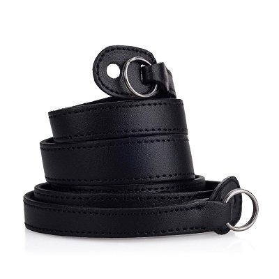 LEICA M10 STRAP LEATHER W/PROTECT FLAP