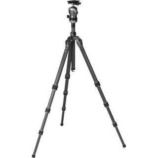 GITZO MOUNTAINEER SERIES 2 CARBON TRIPOD AND CENTER BALLHEAD