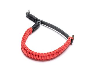 PARACORD HANDSTRAP COOPH BLACK/RED