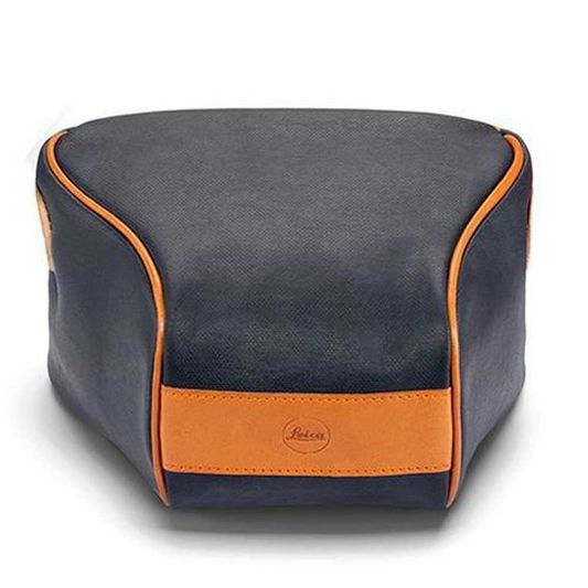 LEICA ETTAS POUCH CANVAS Q2 MNIGHT BLUE