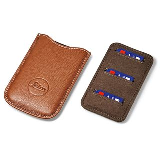 LEICA SD & CREDIT CARD HOLDER COGNAC