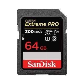 SANDISK EXTREME PRO SDXC 64GB V90 300MBS UHS-II U3