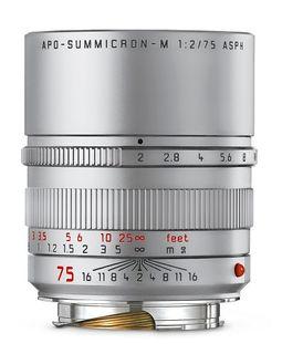LEICA APO-SUMMICRON-M 75MM F2 SILVER ANO