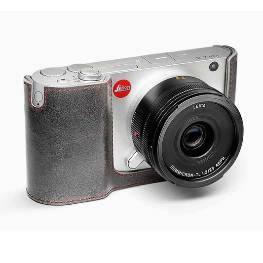 LEICA T PROTECTOR LEATHER STONE GREY