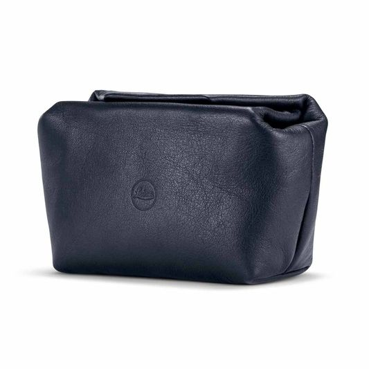 LEICA C-LUX LEATHER POUCH BLUE SMALL